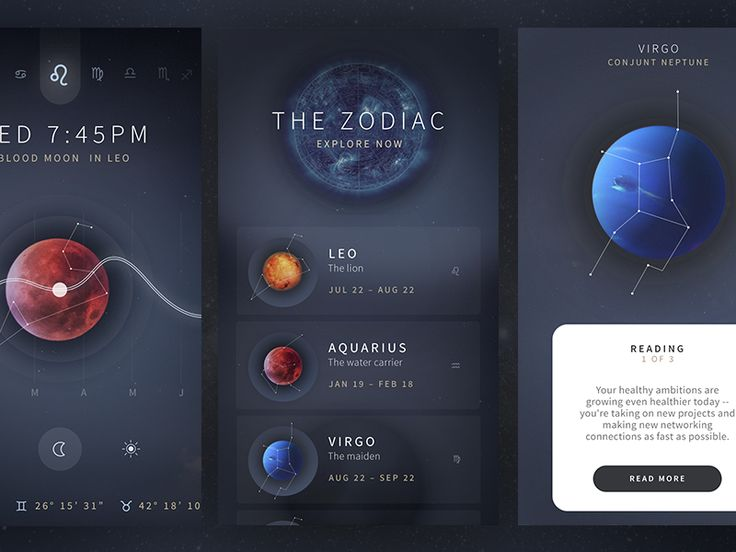 Astrology App Cont. by ⋈ Brandon Termini ⋈