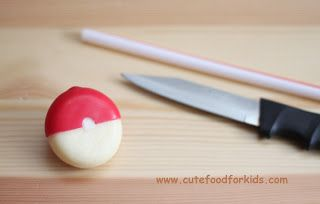 Cute Food For Kids?: Babybel Cheese Pokeball + 8 Edible Pokeball Ideas
