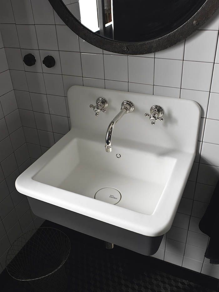Portraits Of Life   Industrial Loft New DuPont™ Corian® Bathroom Collection