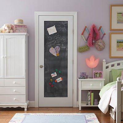 Masonite primed chalkboard door from Home Depot. From carolreeddesign.blogspot.com & Best 20+ Chalkboard doors ideas on Pinterest | Chalkboard paint ... Pezcame.Com