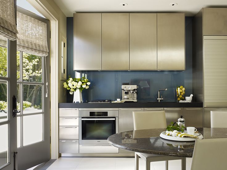Kitchen the carriage house butler armsden architects for Carriage house kitchen cabinets