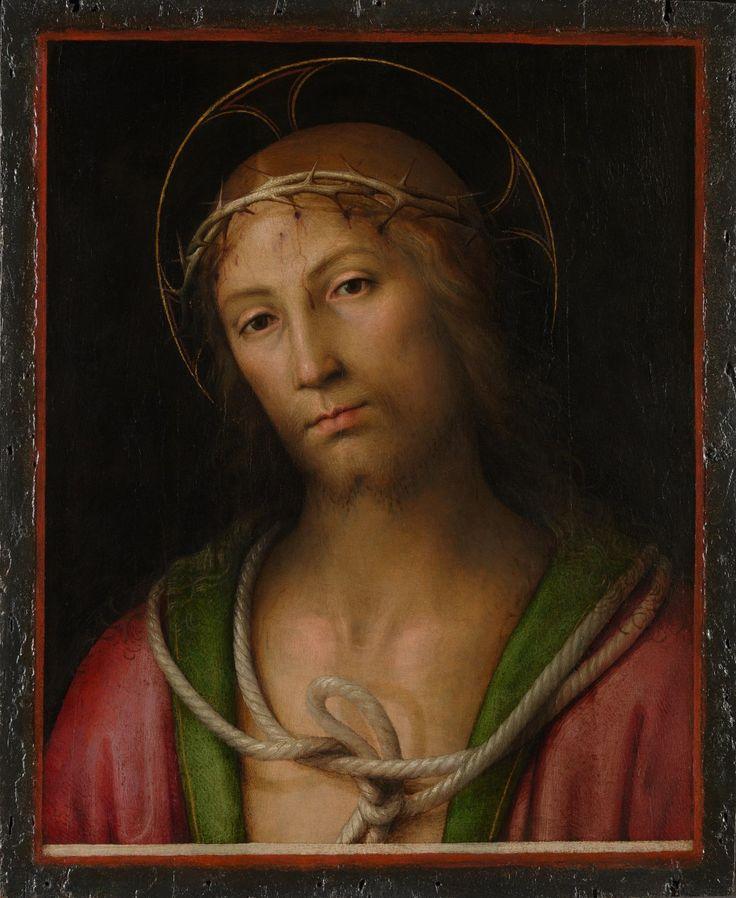 Христос в терновом венце 1505 Перуджино Нац. галерея. Лондон  Терновый венец, с одной стороны, символ страдания и боли, а с другой - победу и торжество духа