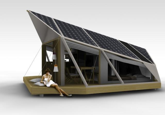 Camping solar (térmico y fotovoltaico)