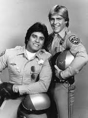 Bruce Penhall as Bruce Nelson Erik Estrada as Frank Ponch  on CHiP's #chips #brucepenhall #brucenelson #ponch