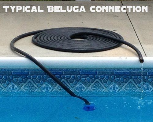 Beluga Solar Pool Heating Device