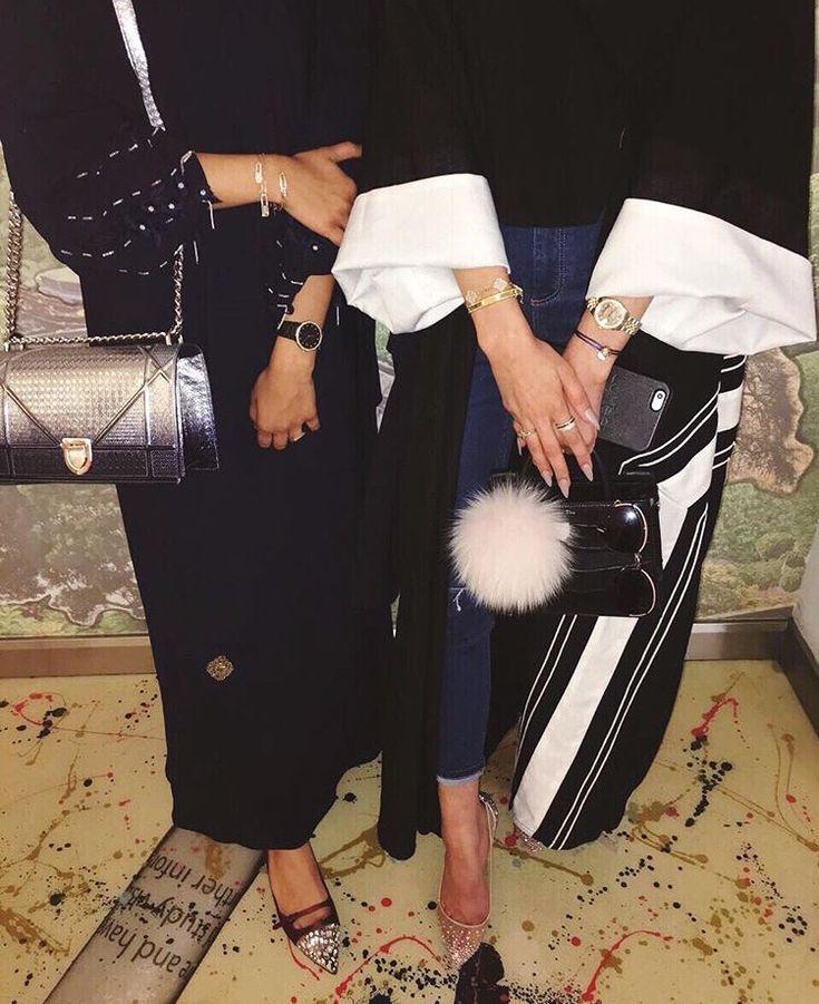 IG: aaa31_ || IG: BeautiifulinBlack || Abaya Fashion ||