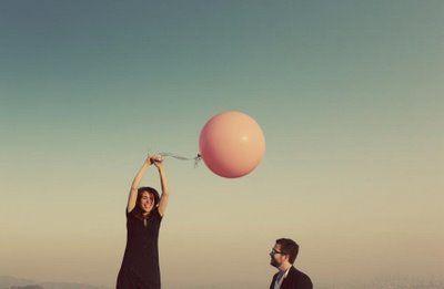 big pink baloon