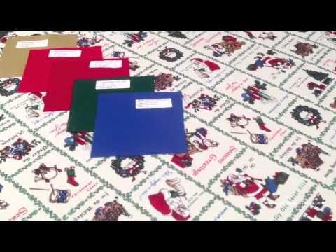 Santa Tablecloth Fabric