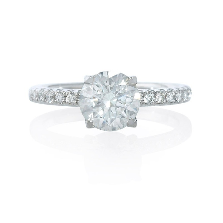 89 best images about custom engagement rings on