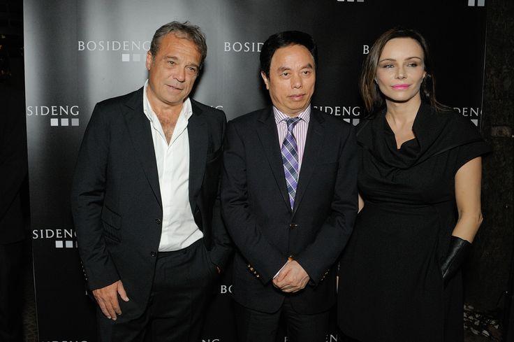 Bosideng Fashion Experience - Claudio Amendola, Gao Dekang, Francesca Neri