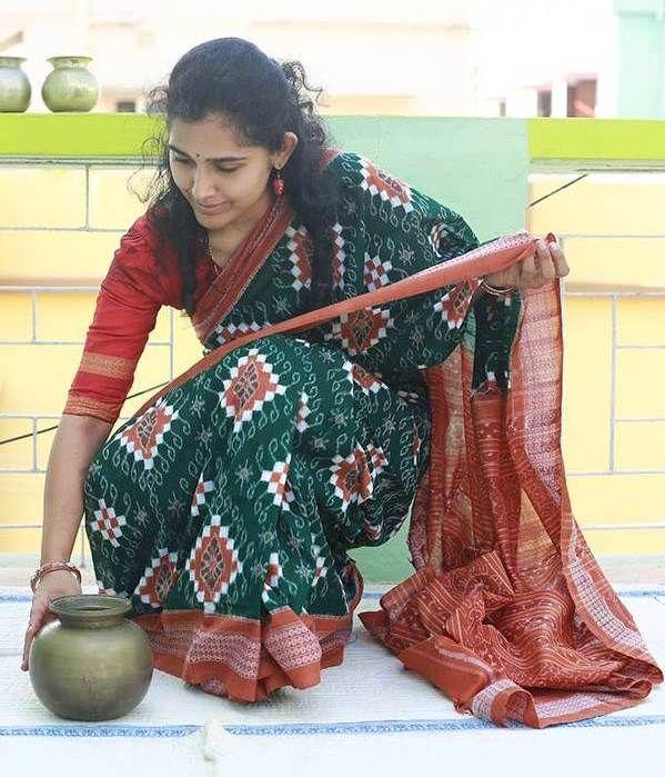 Odisha Cotton Double Ikkat Saree
