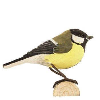 The DecoBird great tit is one of our most common and well known birds. Many people's favourite! #DecoBird #GreatTit #Kohlmeise #talgoxe #wildlifegarden.info #wildlifegarden