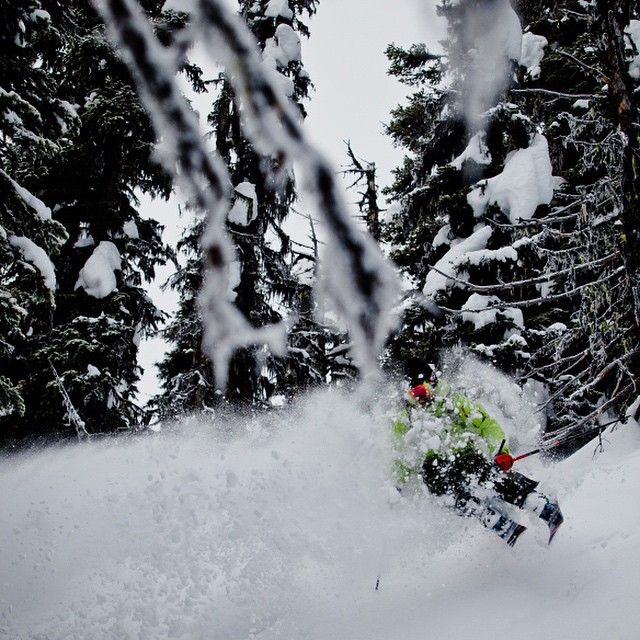 Pete charging at @bigredcats #Catskiing #skiing  @khphotograph #catskiingcanada