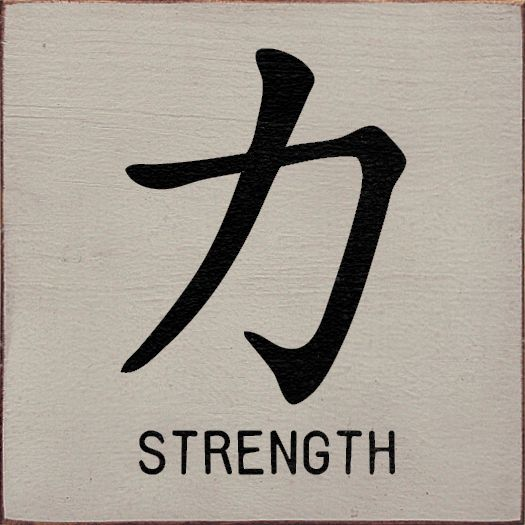 25 best ideas about chinese letter tattoos on pinterest for Tattoo representing strength