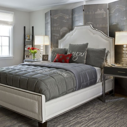 Bedroom Ideas Red And Grey 29 best gray and red images on pinterest | red, bedroom colors and
