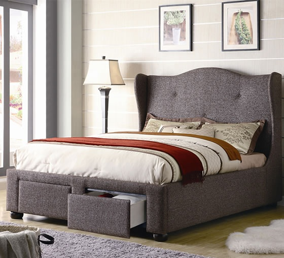 currently in love with upholstered beds in need of storage and who doesn coaster furniturebed furniturefurniture storesunique bedroom - Bedroom Furniture Stores Chicago