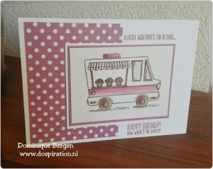 Stampin'up tasty truck, coloring, watercoloring, blender pen, saleabration, gratis stempels, dospiration, peekaboo peach, dospiration