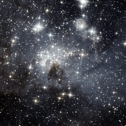 Each one a galaxy. We are so small. And somehow God knows my name.