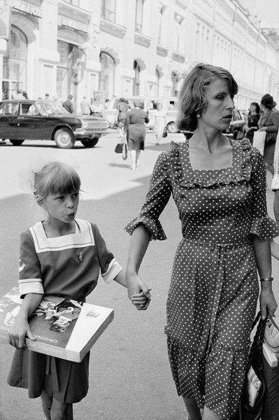 Летняя Москва 1980 года в объективе Раймона Депардона (28 фото)