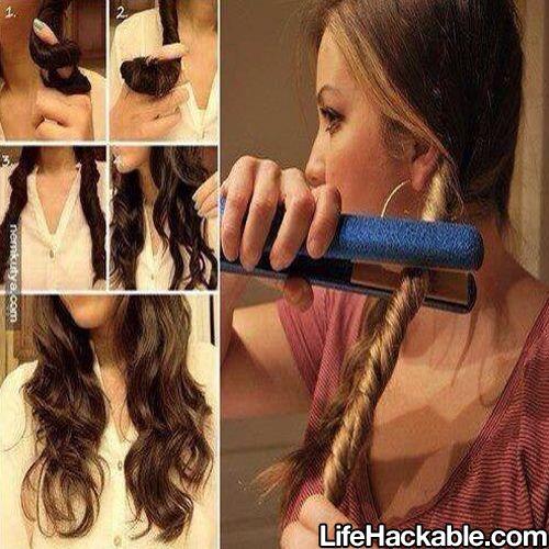 fast curls ideas