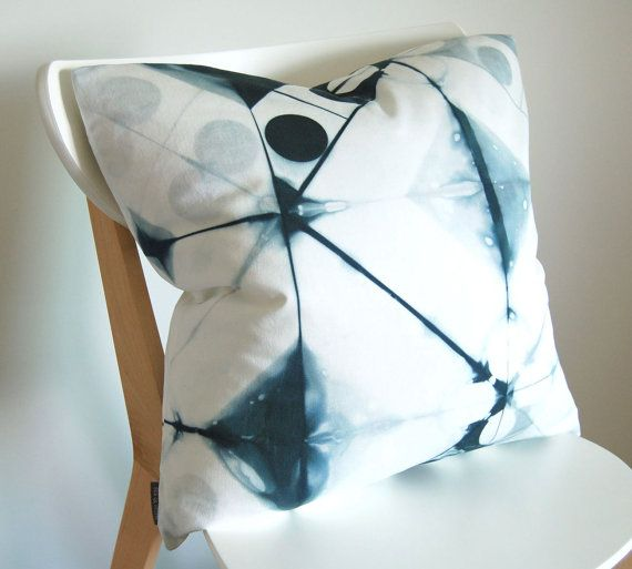 Tie Dye Shibori Pillow Cover 20x20 inches