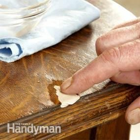 how to refinish furniture - How To Refinish Wood Table