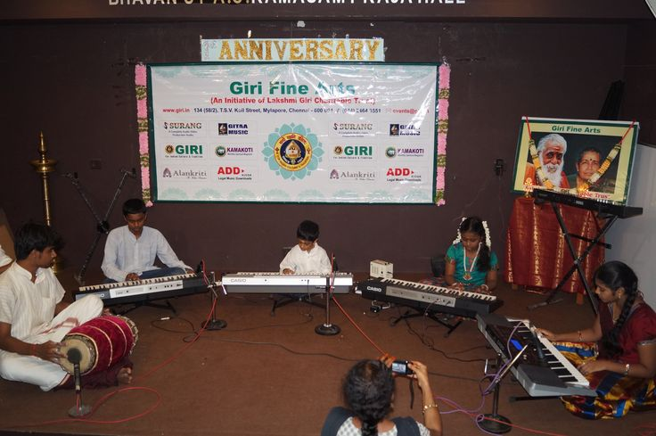 GIRI FINE ARTS 1st Anniversary celebration on 29th August 2014