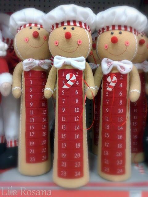 Decorando o Natal: Calendário - Pão de Mel