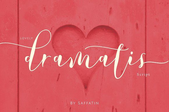 Lovely Dramatis by Saffatin on @creativemarket