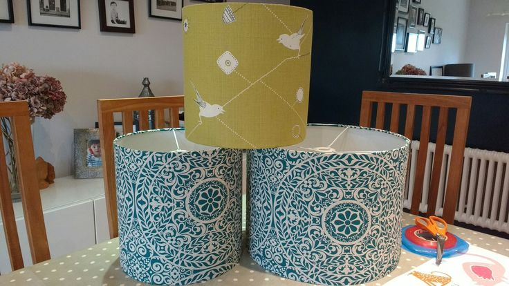 Gorgeous new designs by #FunkyOlive #linens #lampshades #hampshirelife