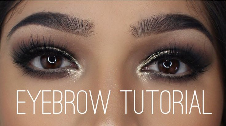Full Eyebrows Tutorial | Anastasia Beverly Hills Brow Wiz - YouTube
