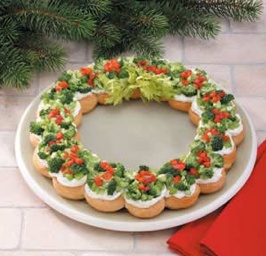 Corona di Natale Antipasto