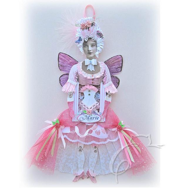 .: Art Mixed, Paper Dolls, Dolls Art Paper, Marie Paper, Altered Art, Fairy Art, Art Dolls