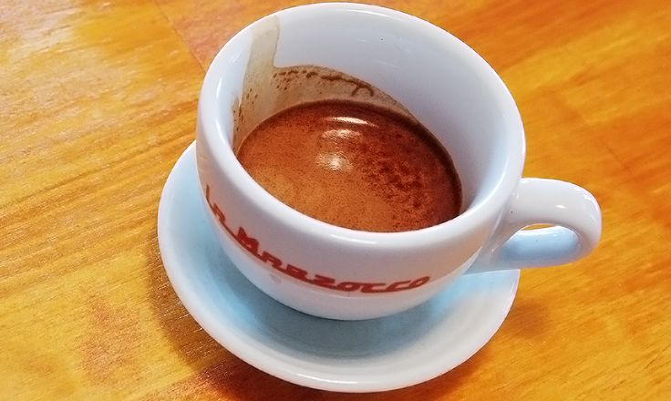 Espresso has nice acidity and mouthfeel.