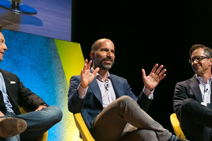 Ubers New CEO May Be Expedia CEO Dara Khosrowshahi  Then-CEO of Expedia Dara Khosrowshahi speaking at Skift Global Forum in 2016. Khosrowshahi has taken the job as Uber CEO. Skift  Skift Take: This pick came out of left field but totally makes sense consi