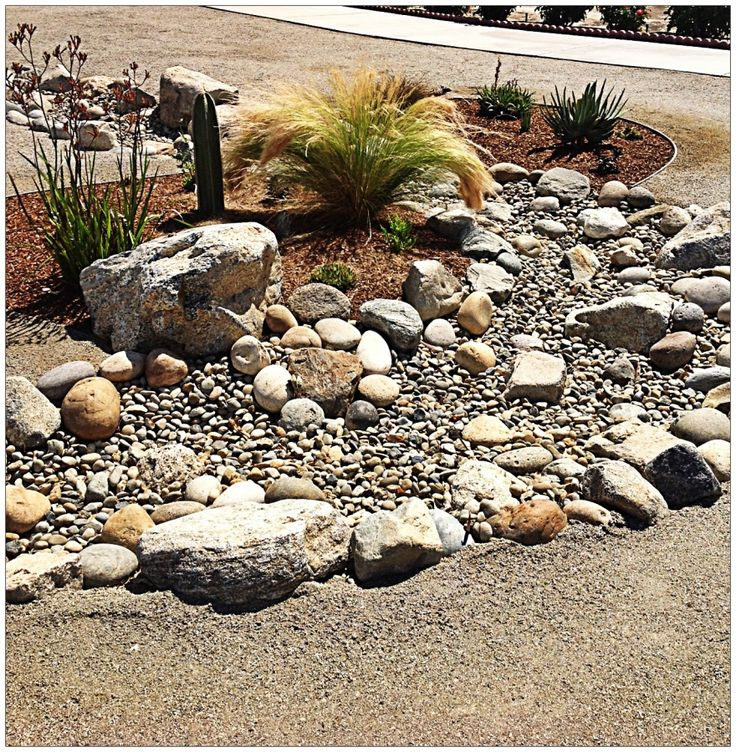 xeriscape with dry creek bed | Since 1953 Monji Landscape Companies has been a leader in Bakersfield ...