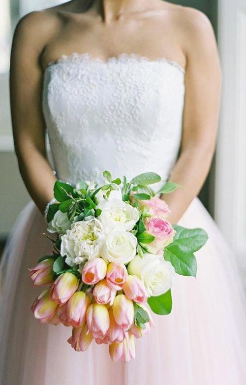 25 Best Ideas About Tulip Bridal Bouquet On Pinterest