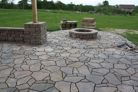 I have noticed a lot of you stopping by from Pinterest. Thanks for looking! We will be doing many more patio and landscaping projects this...
