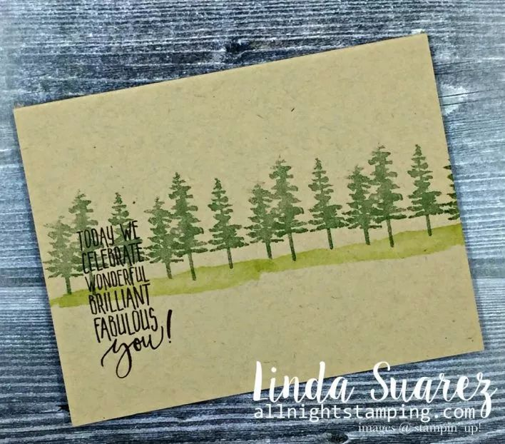 Waterfront stamp set from Stampin' Up! This just might be my favorite set in the 2018 Occasions Catalog. I CASEd my card from Patty Bennett at Patty's Stamping Spot. You can see her cards here. It …