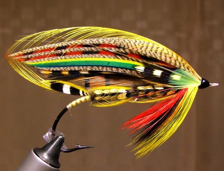 183 best images about fly tying classic salmon flies on for Salmon fishing lures