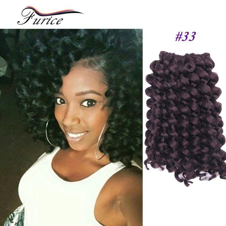 Wand Curl Crochet Hair Twist Braiding  Crochet Braids