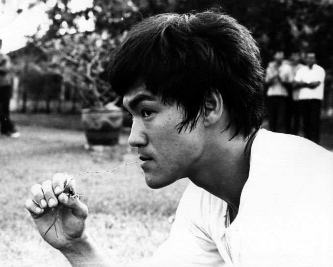 Bruce Lee (Photograph courtesy of the Bruce Lee Foundation archive) Do I love this man...yes