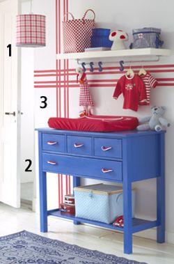 De leukste metamorfose-tips en zelfmaakideeën om van de babykamer een knus en origineel kamertje te maken.