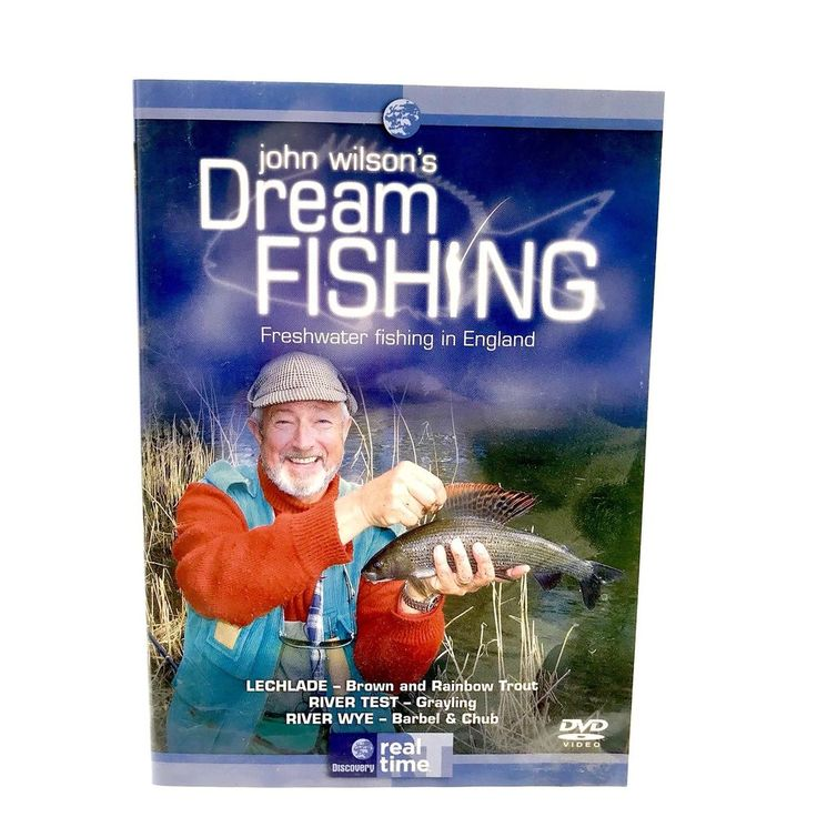 John Wilsons Dream Fishing Freshwater Fishing In England DVD Trout Grayling Chub