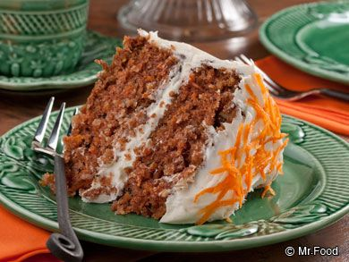 The Best Carrot Cake Ever | mrfood.com