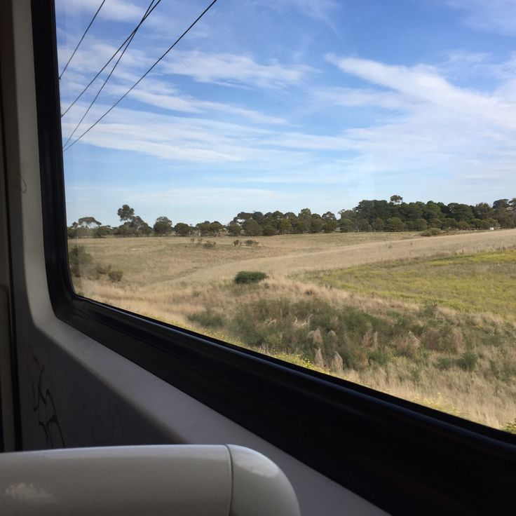 country view from he train on the way to the Bloggers United event +http://www.fabufitmum.com.au