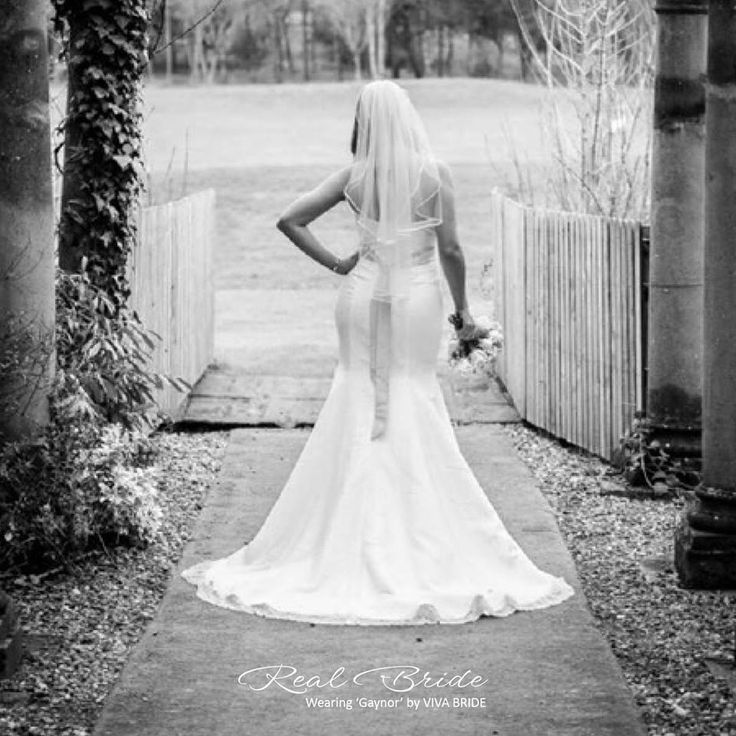 Look at how beautiful Lindsay looks in 'Gaynor' wedding dress 💗 This gorgeous strapless gown is a fantastic choice for your wedding day 💗