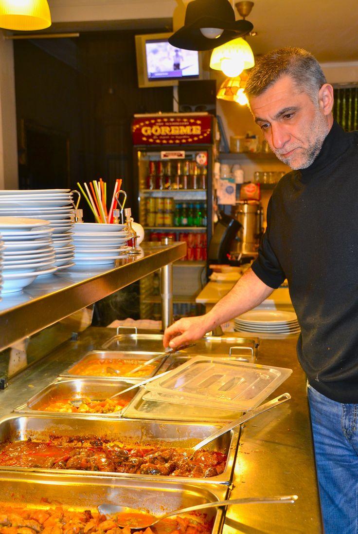 Chef Gurkan Kürt, internationaal gevraagd als kok.