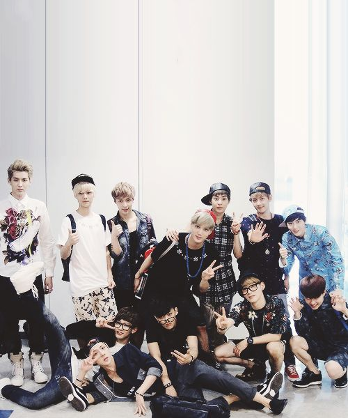 "a nice photo at firstn but then you're like ""where's D.O? ... oh"""