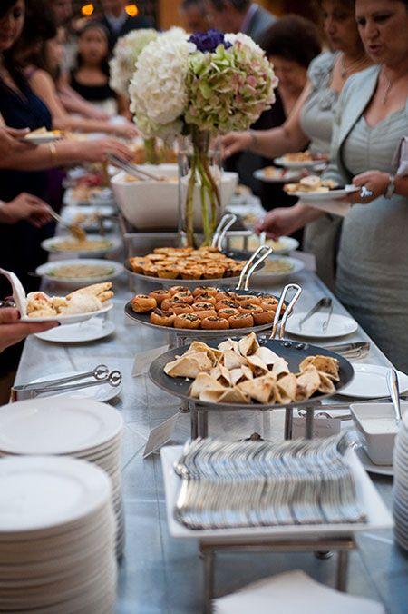 buffet mariage chic